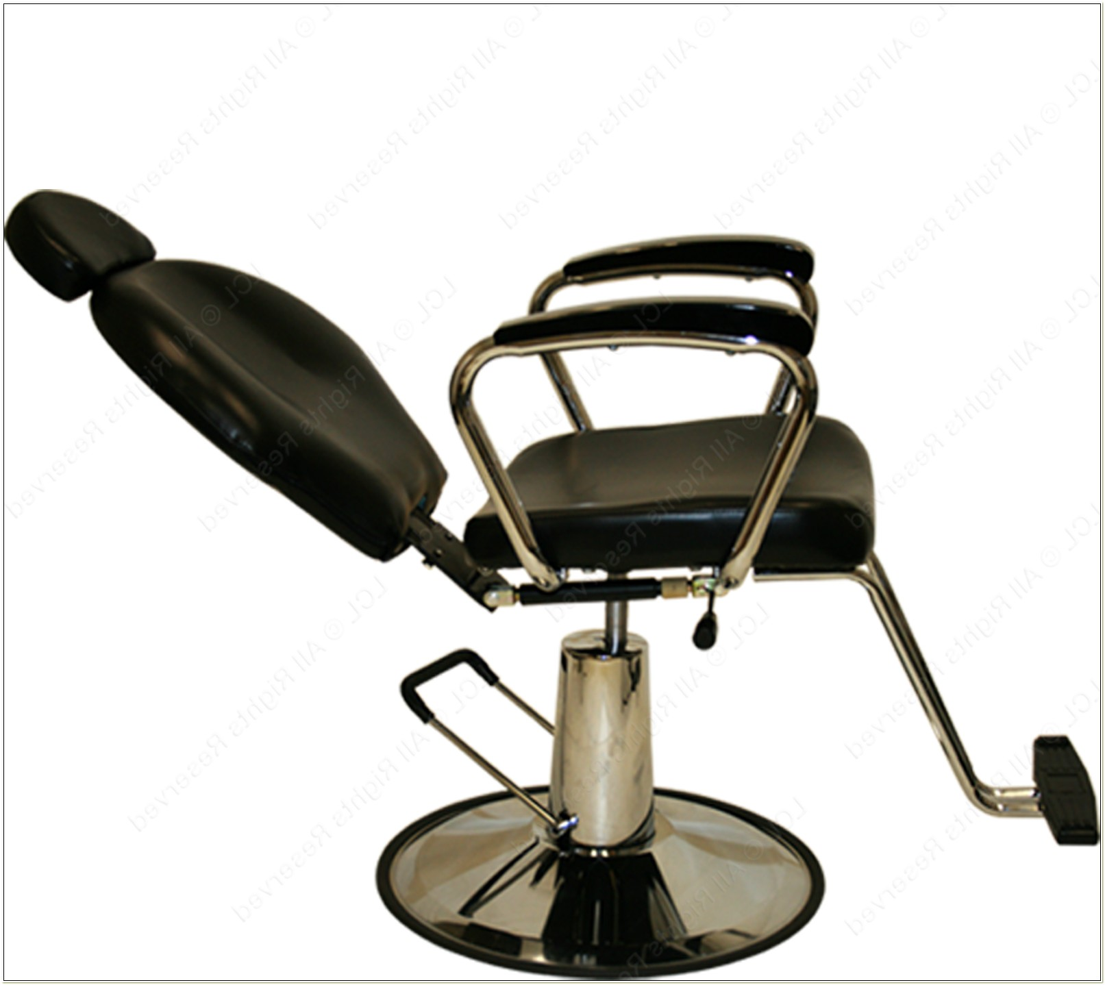 Reclining Hydraulic Salon Chair