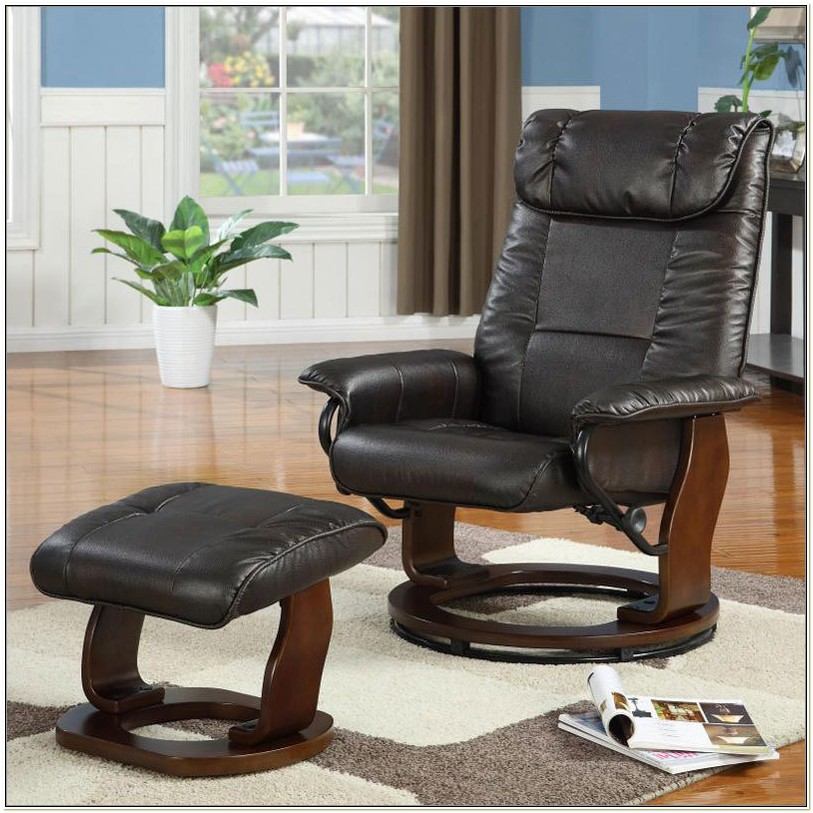Reclining Rocking Chair With Ottoman