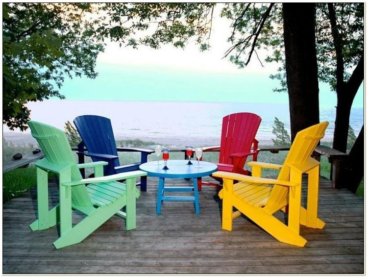 Recycled Plastic Adirondack Chair Kits