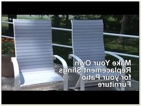 Redo Sling Patio Chairs
