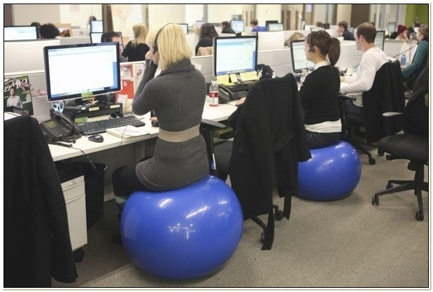 Replacing Office Chair With Exercise Ball
