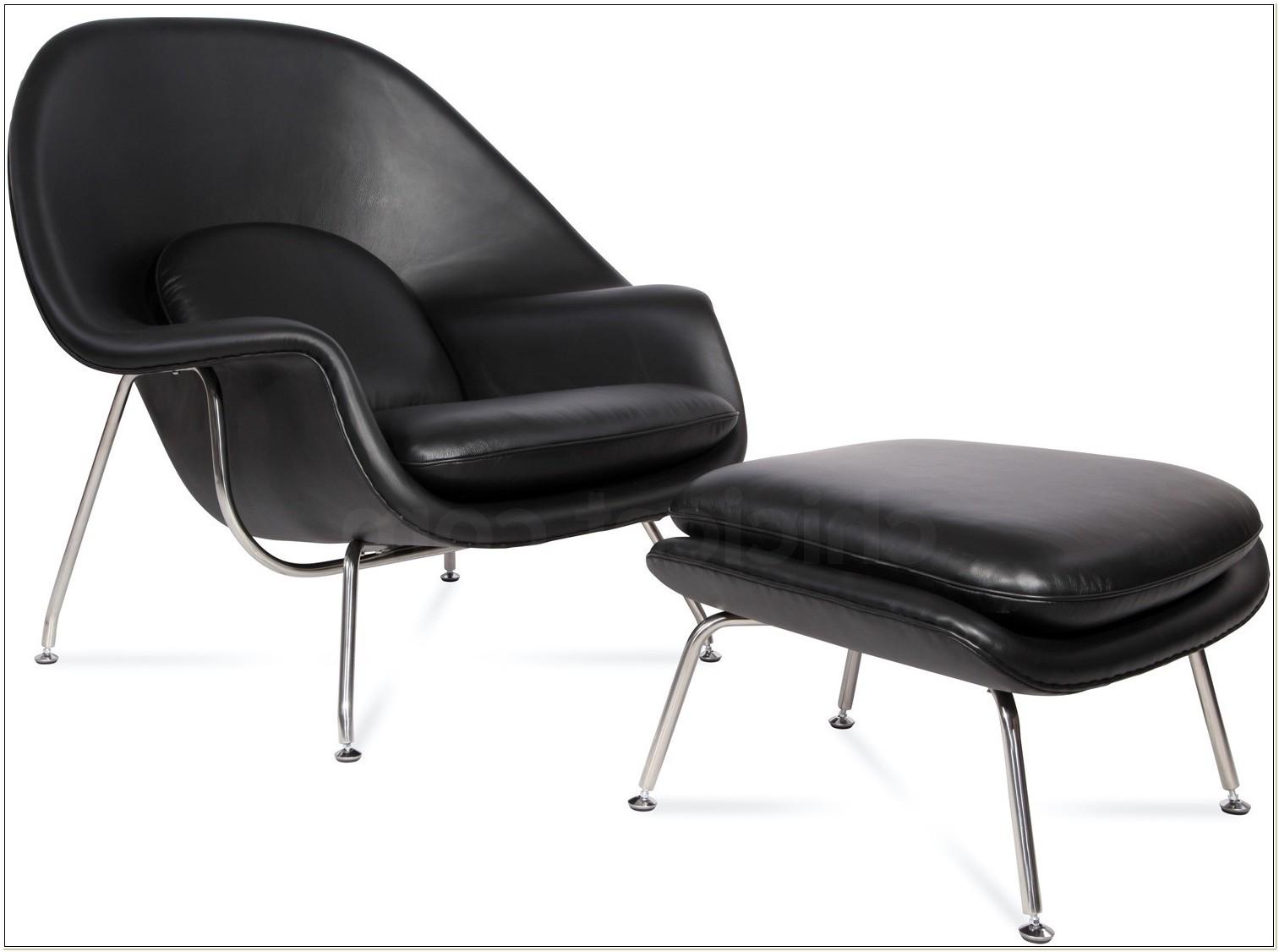 Replica Eero Saarinen Womb Chair And Ottoman