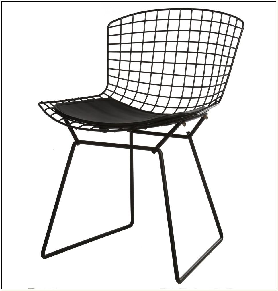 Replica Harry Bertoia Side Chair Stainless Steel