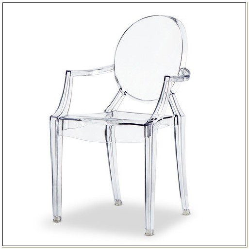Replica Philippe Starck Louis Ghost Armchair Chair