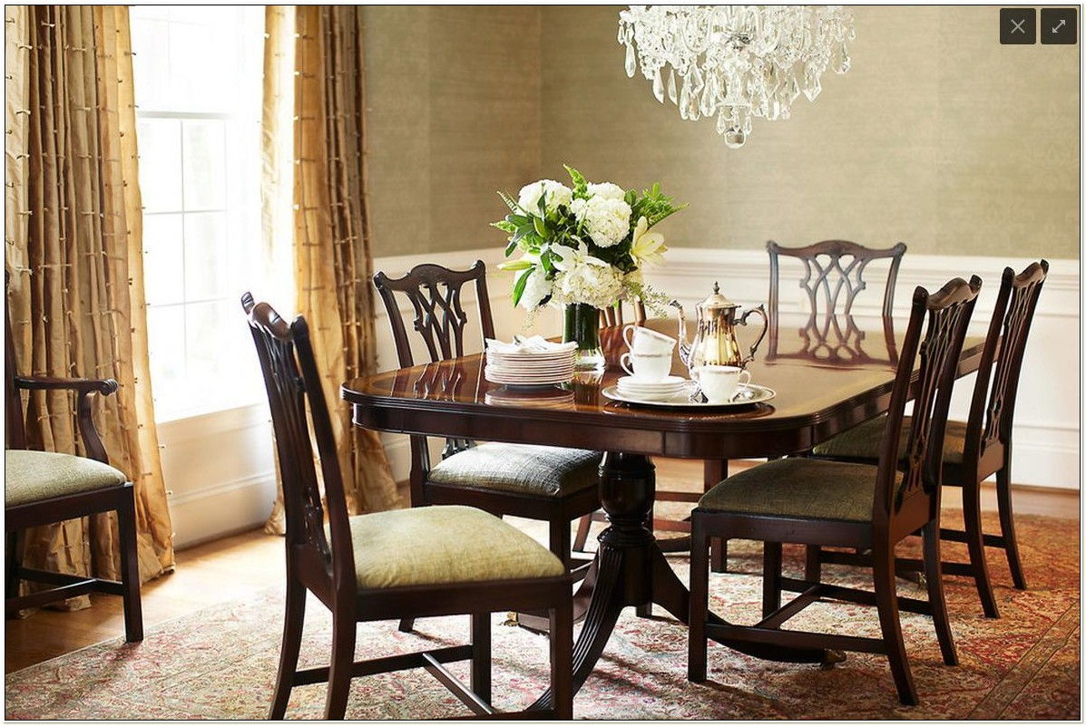 Reproduction Chippendale Dining Room Chairs