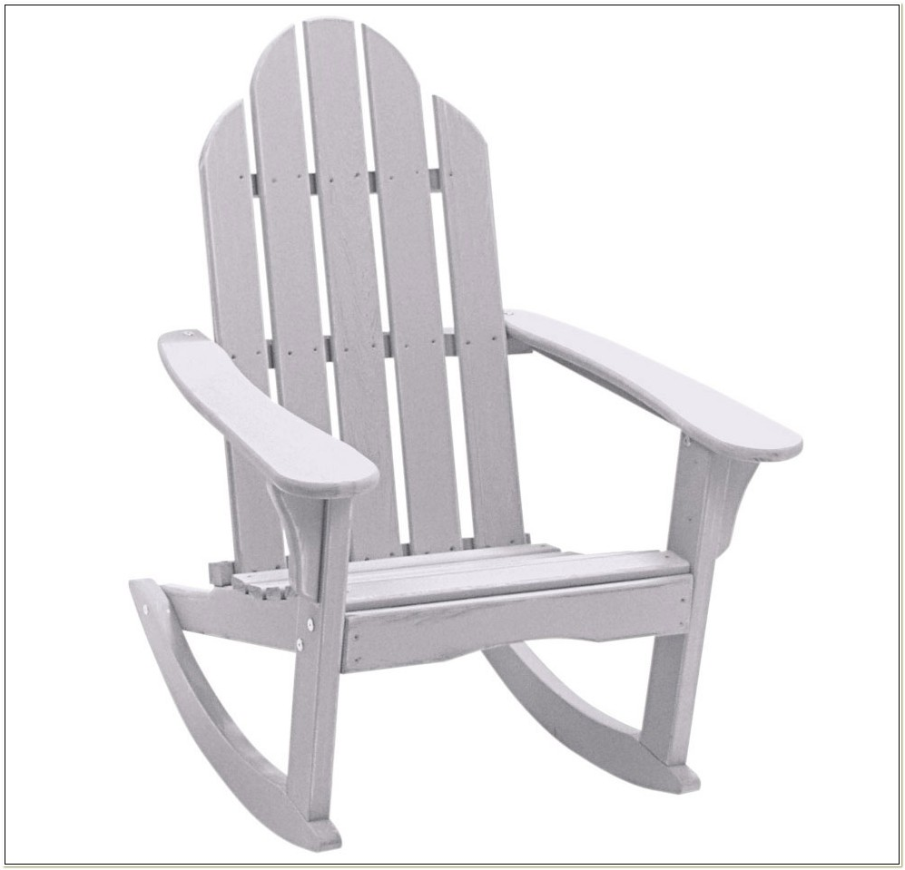 Resin Adirondack Rocking Chairs