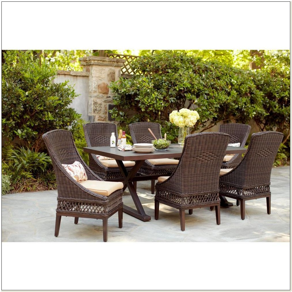 Resin Wicker Chairs Home Depot