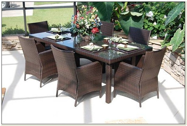 Resin Wicker Outdoor Dining Chairs
