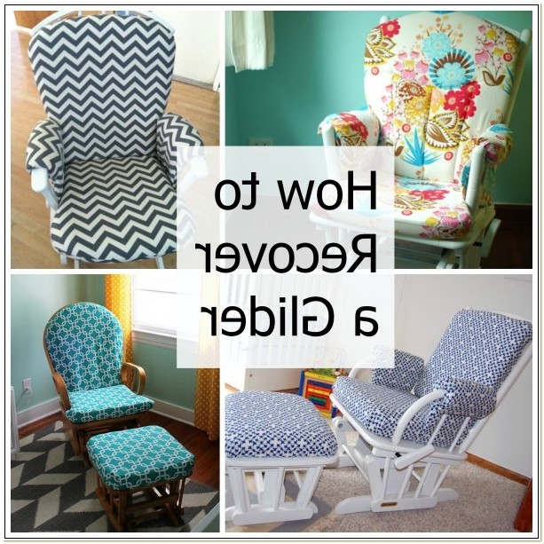 Reupholster Glider Rocking Chair