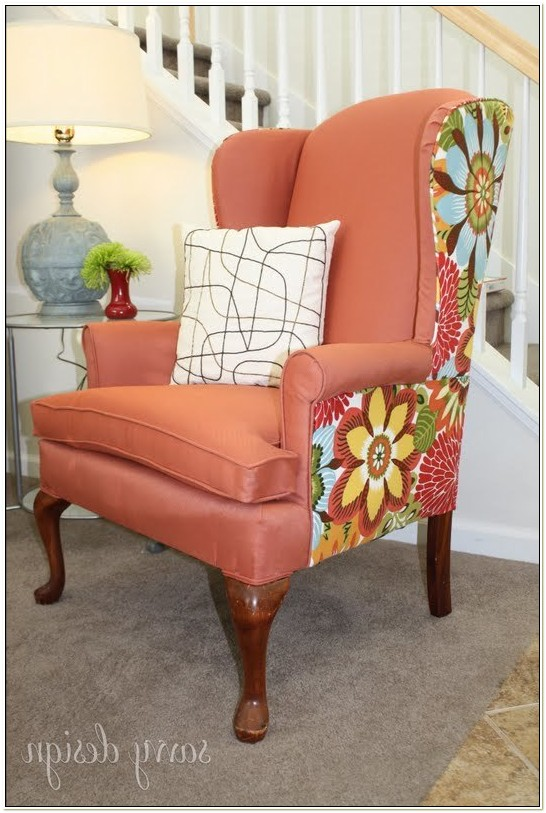 Reupholstering A Wingback Chair