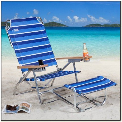 Rio Beach Chair With Footrest