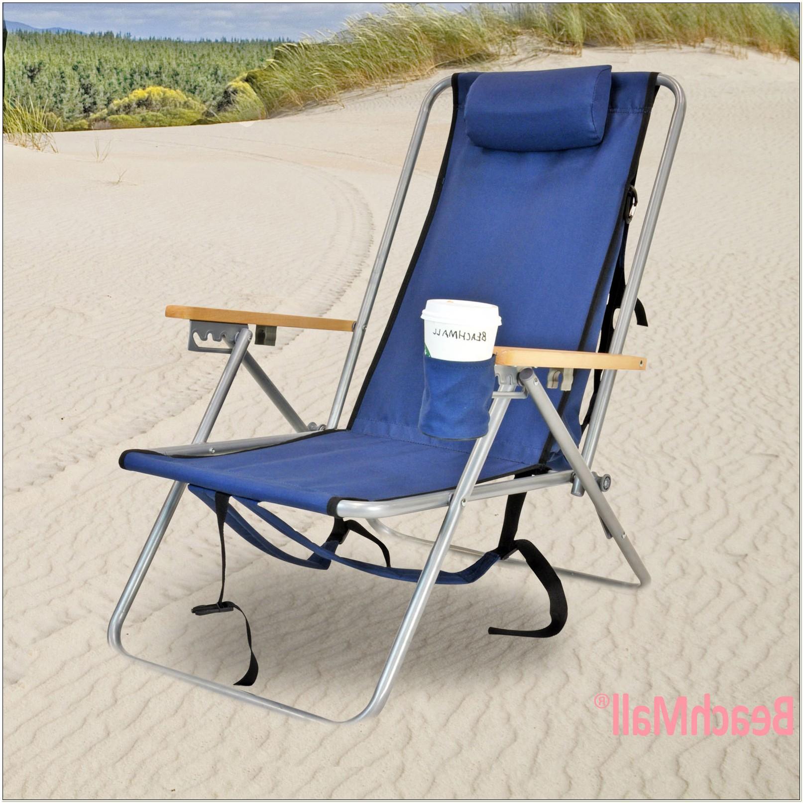 Rio Wearever Steel Beach Backpack Chairs