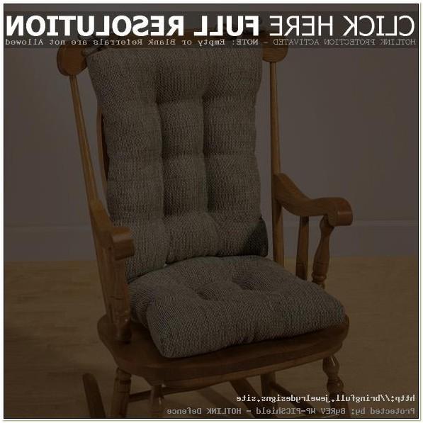 Rocking Chair Cushion Set Canada