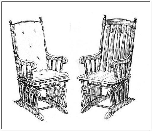 Rocking Chair Glider Plans
