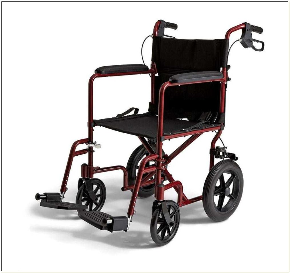 Roll Easy Transport Wheelchair