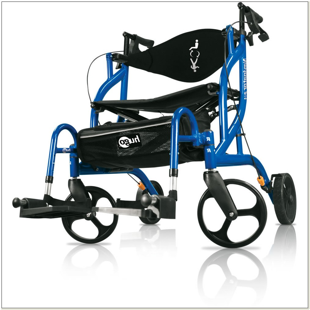 Rollator And Transport Chair Combination