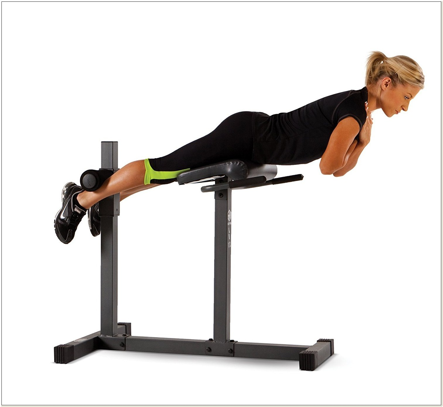 Roman Chair Hyperextension Bench Exercise