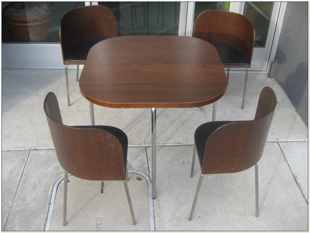 Round Kitchen Table And Chairs Ikea