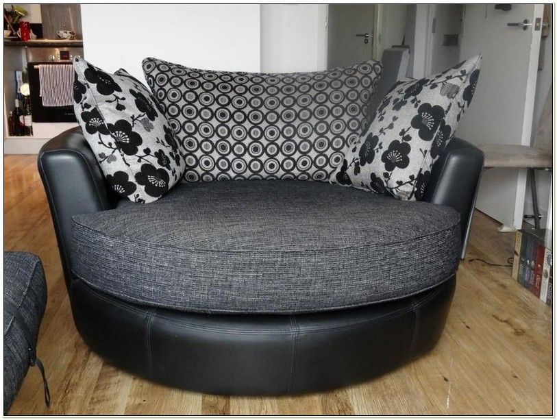 Round Spinning Sofa Chair