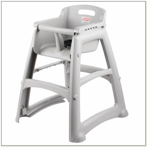 Rubbermaid High Chair With Wheels