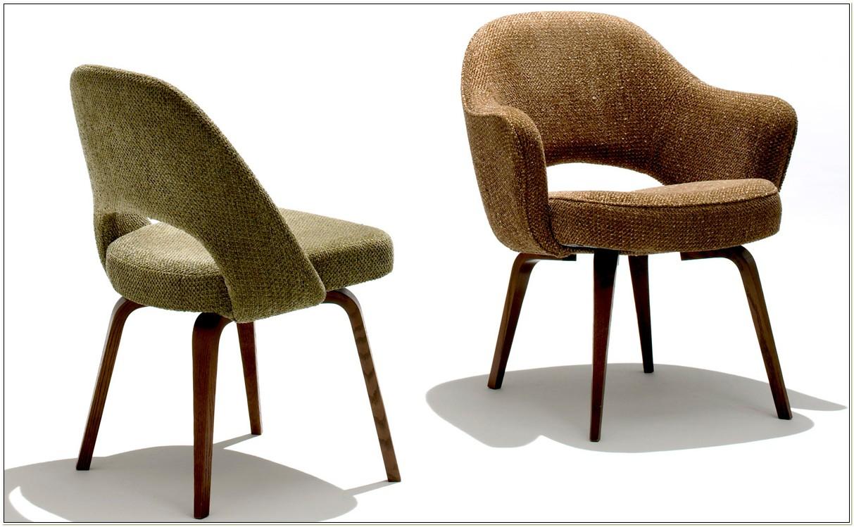 Saarinen Executive Armless Chair Reproduction