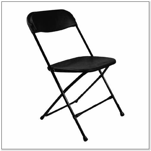 Samsonite Black Plastic Folding Chairs