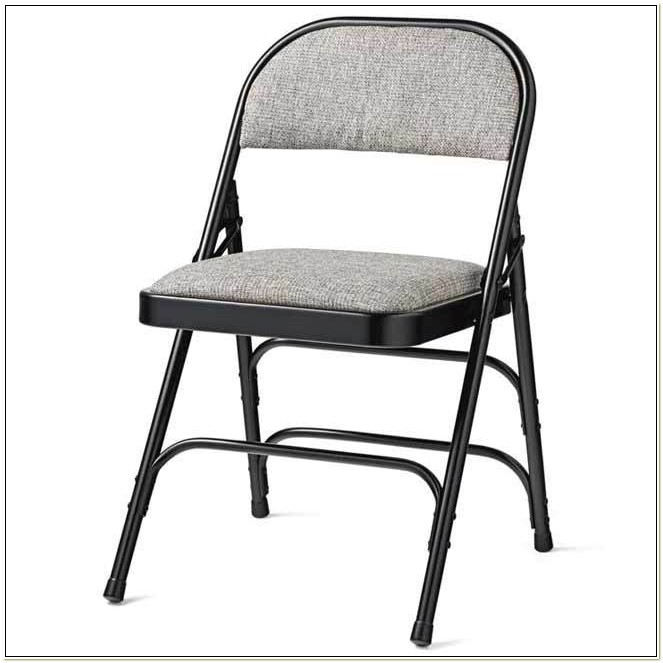 Samsonite Fabric Padded Folding Chairs