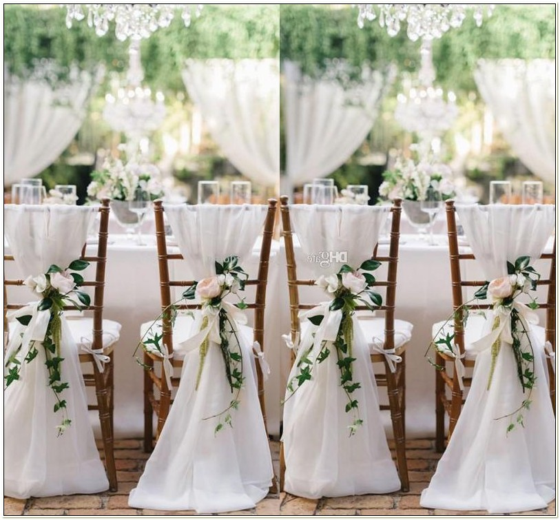 Sashes For Chairs Wedding