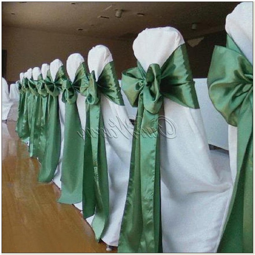 Satin Sashes For Wedding Chairs