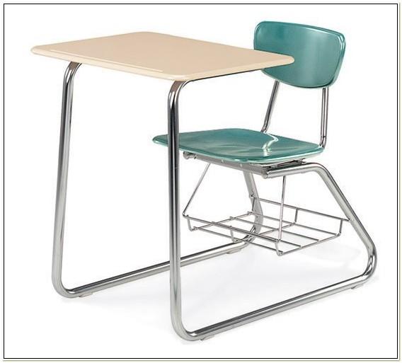 School Desk Chair Combo