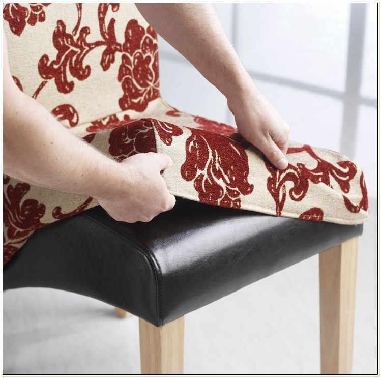 Scroll Back Dining Chair Covers Uk