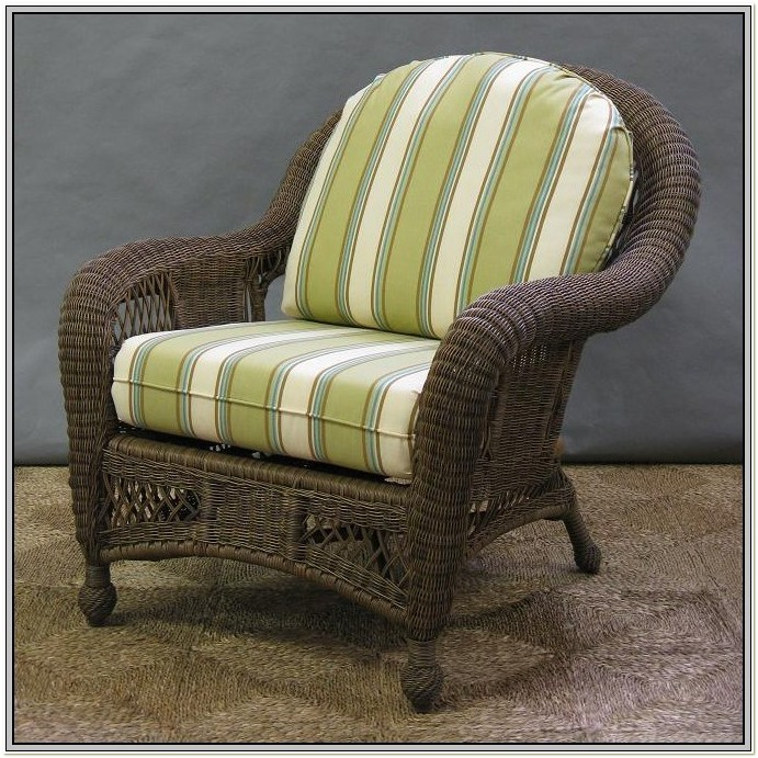Seat Cushions For Indoor Wicker Chairs
