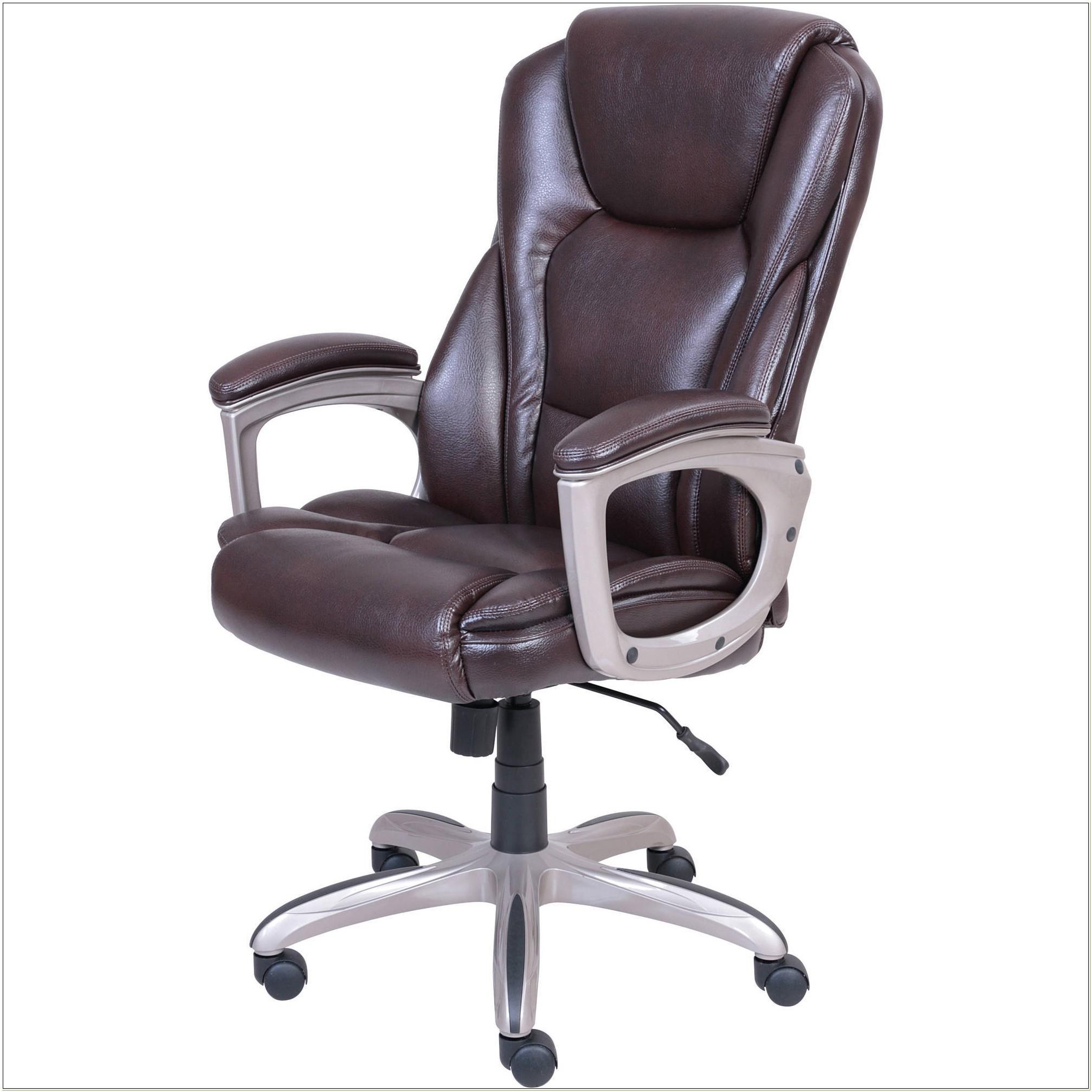Serta Big Tall Executive Leather Chair