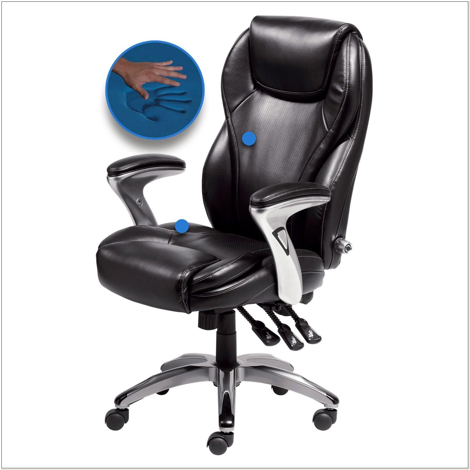 Serta Bonded Leather Ergo Executive Office Chair