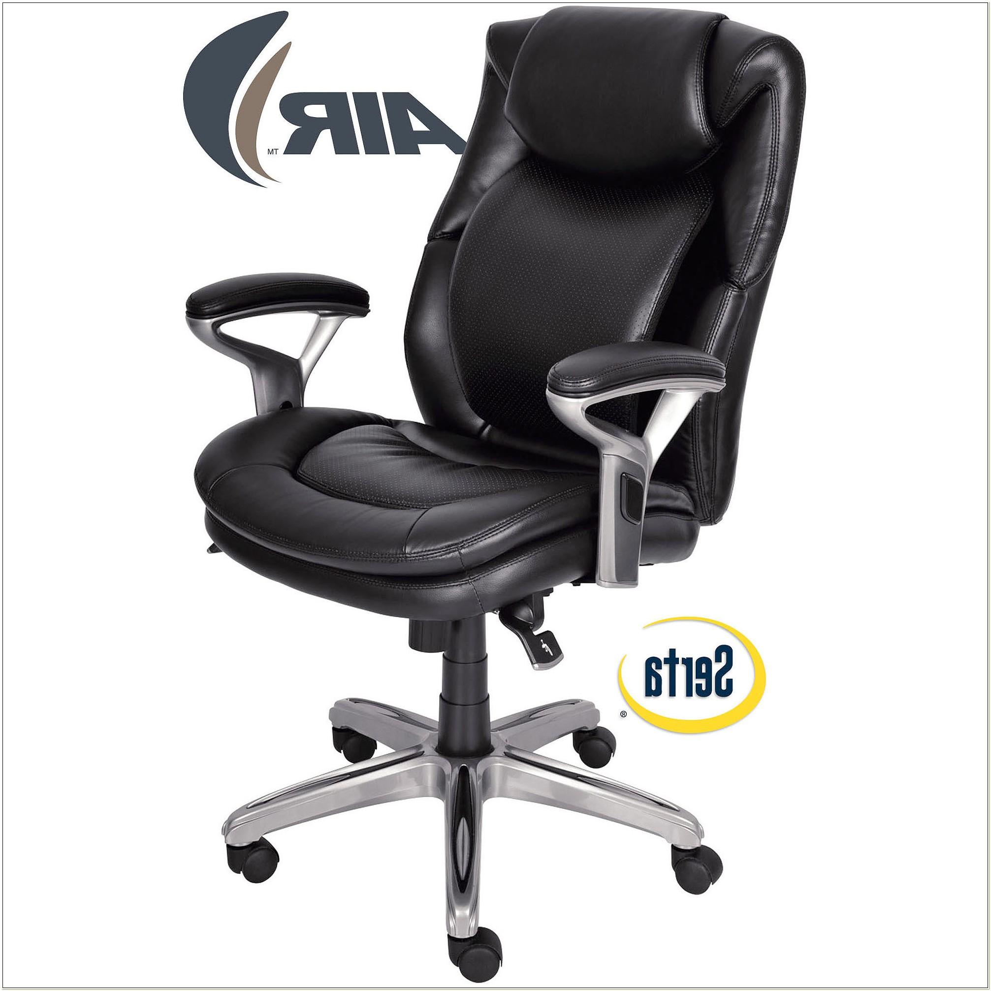 Serta Leather Desk Chair