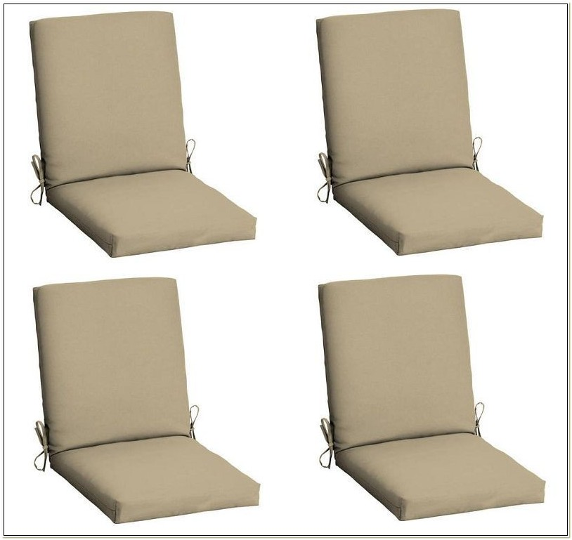Set Of 4 Patio Chair Cushions