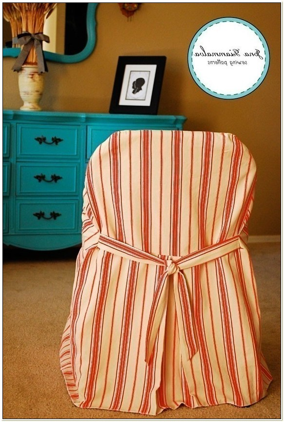 Sewing Pattern For Folding Chair Slipcover