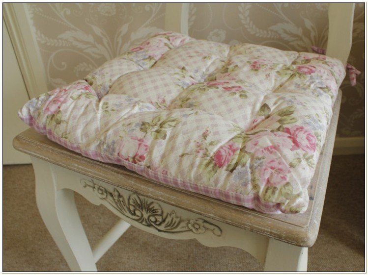 Shabby Chic Kitchen Chair Cushions