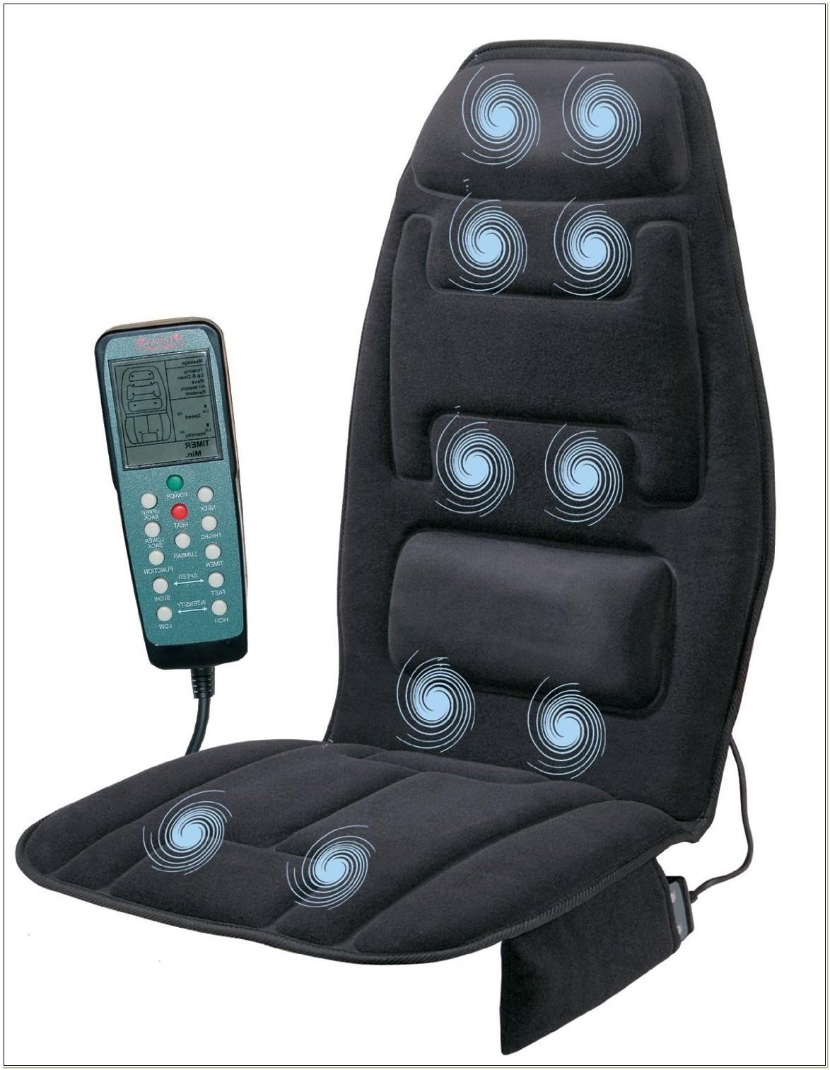 Sharper Image 10 Motor Massage Chair Pad