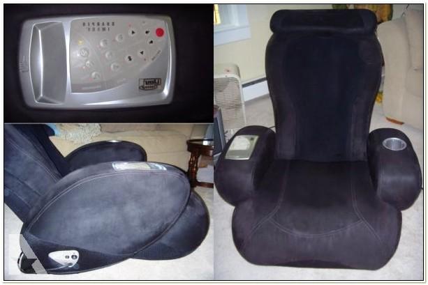 Sharper Image Massage Chair Ijoy