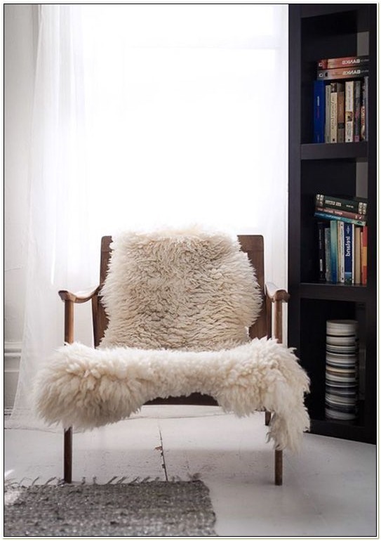 Sheepskin Throw For Chair