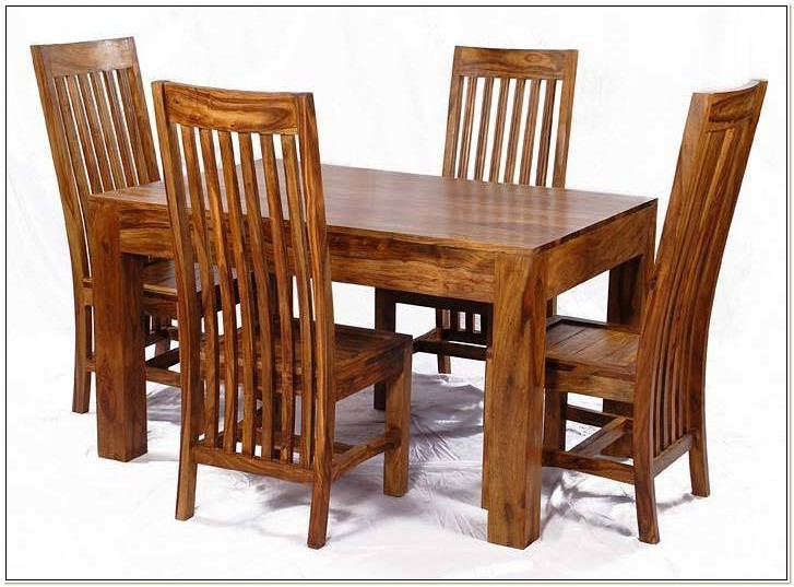 Sheesham Wood Dining Chairs