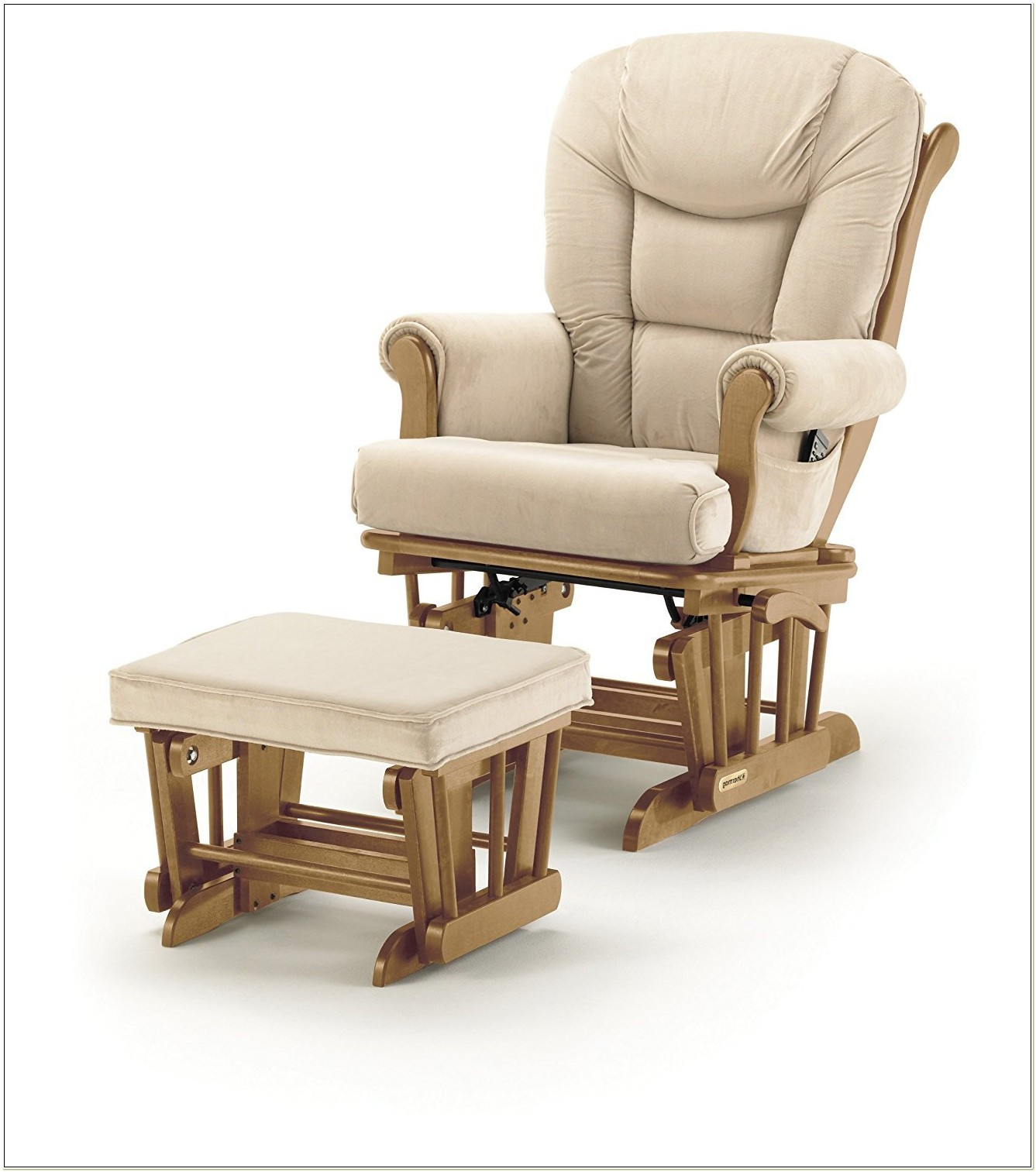 Shermag Glider Rocking Chair With Ottoman
