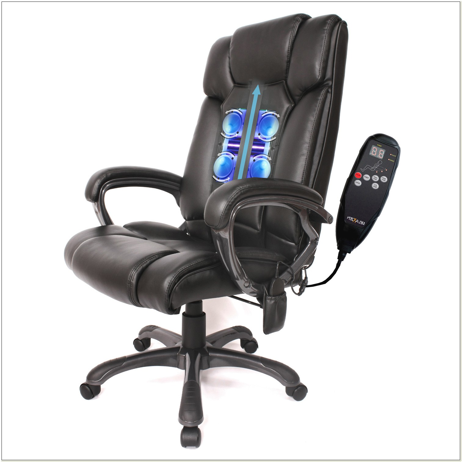 Shiatsu Massaging Office Chair With Heat
