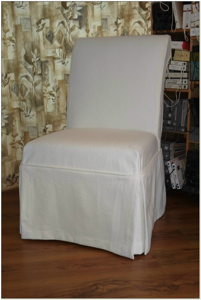 Simply Shabby Chic Chair Slipcover