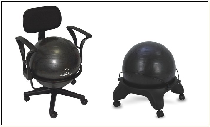 Sivan Health And Fitness Balance Ball Chair