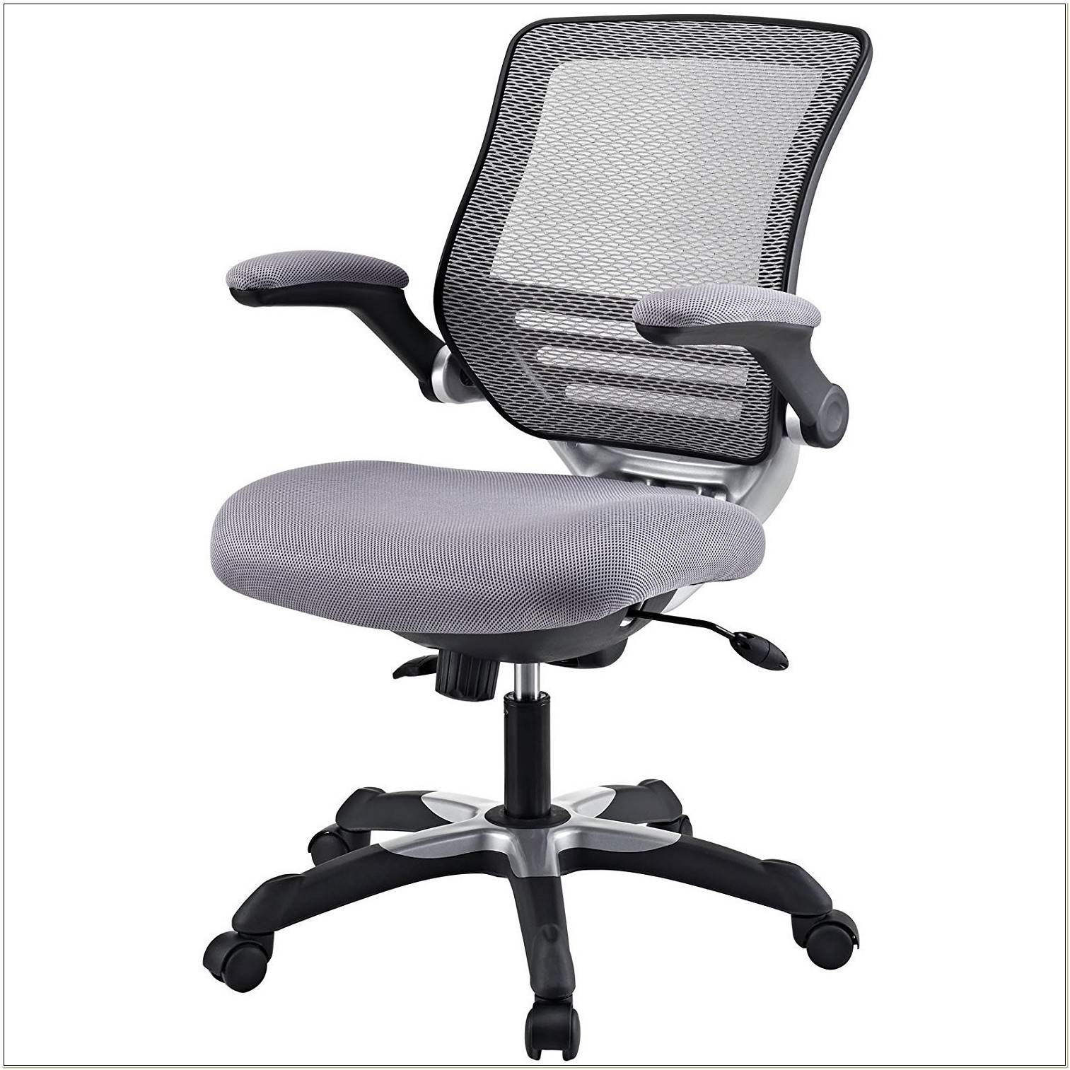 Skate Silver Grey Mesh Ergonomic Chair