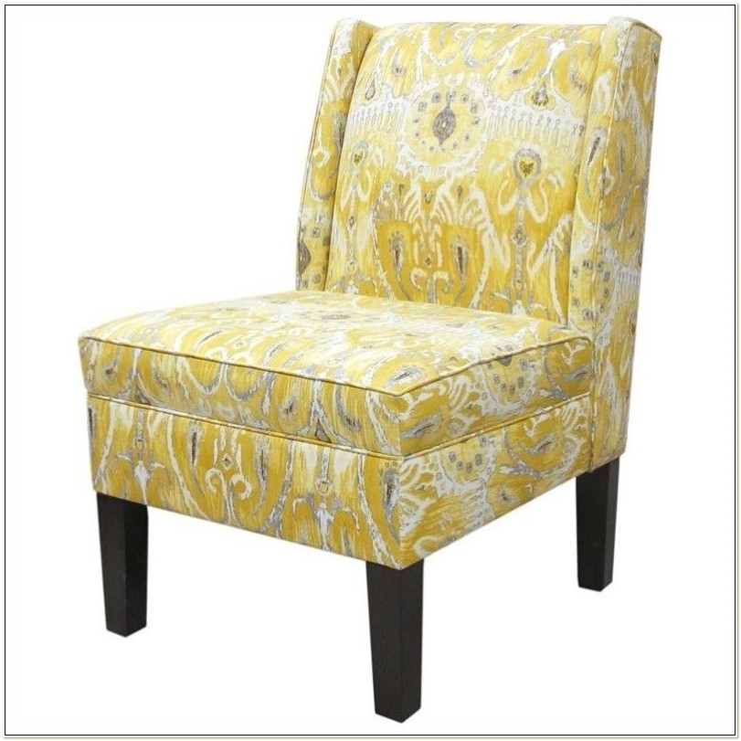 Skyline Furniture Floral Slipper Chair