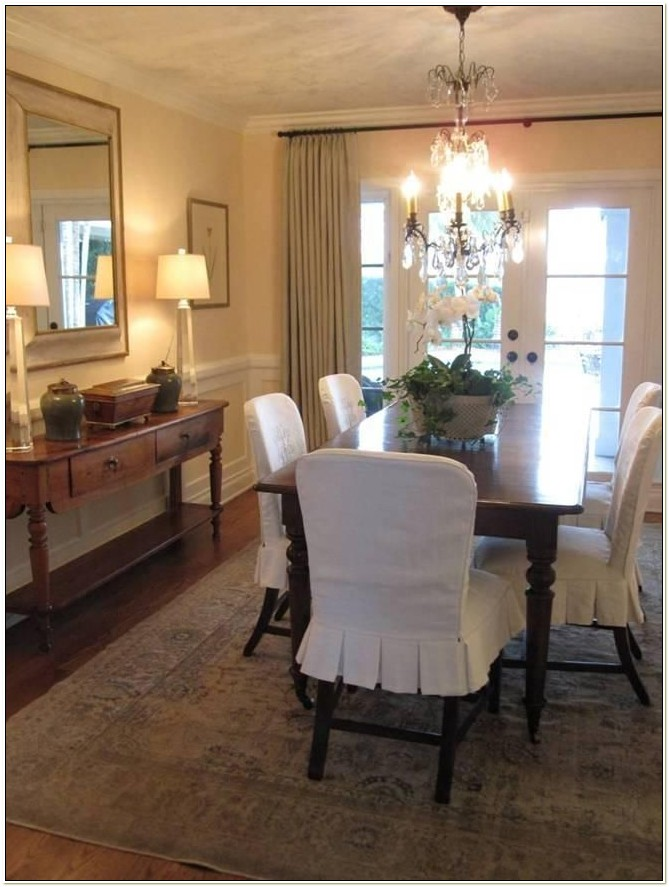 Slipcover For Dining Room Chair