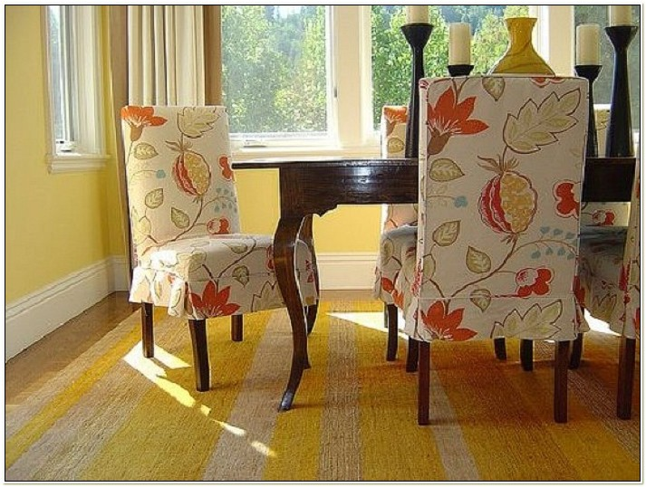 Slipcover For Dining Room Chairs Pattern